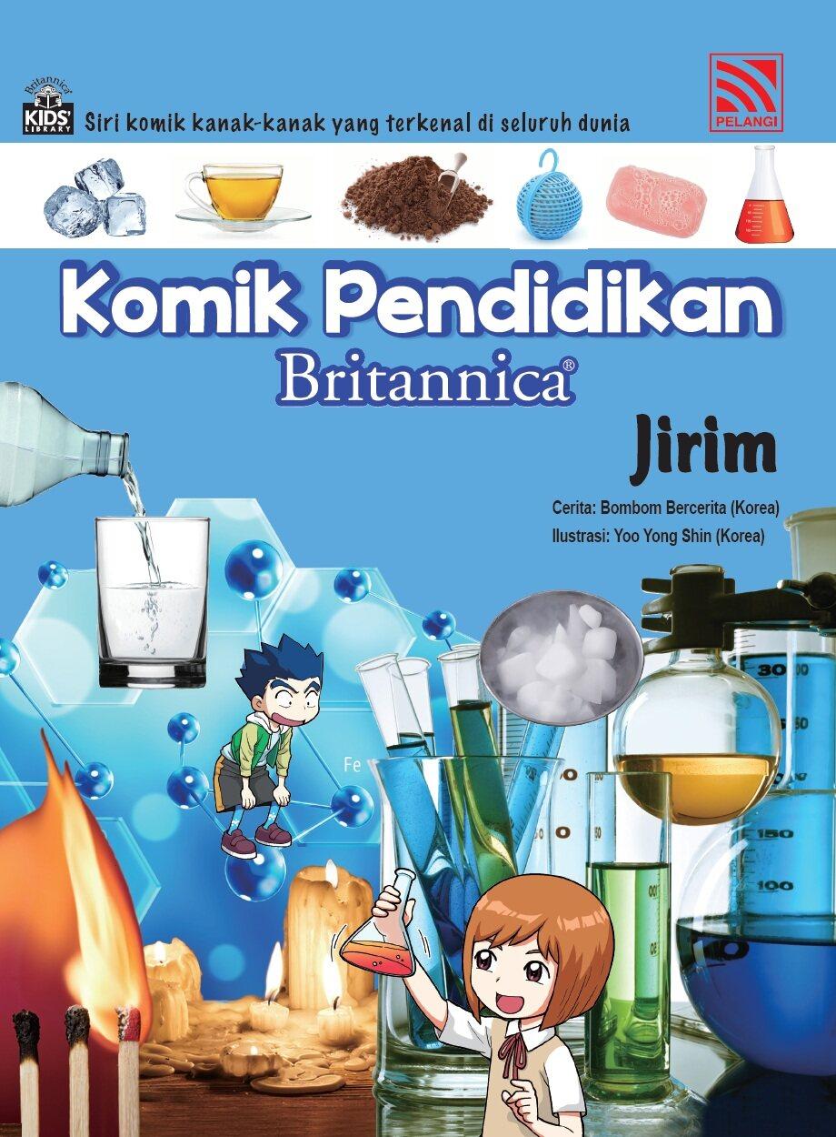 Pelangibooks Komik Pendidikan Britannica - Jirim