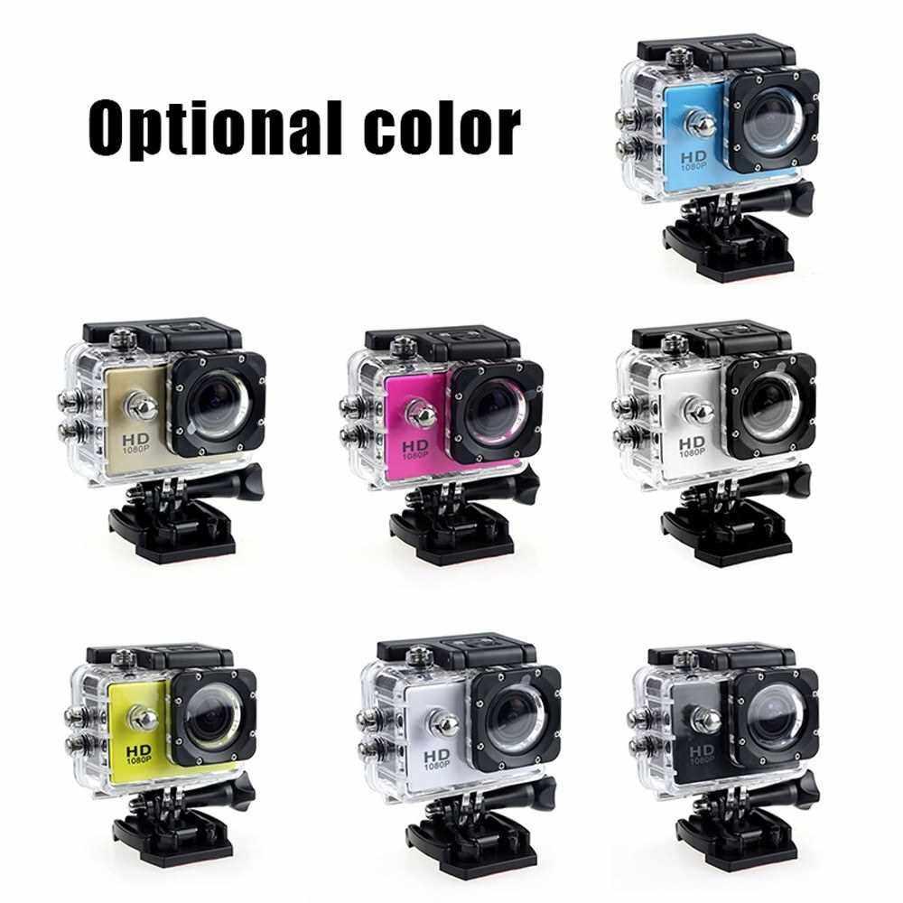 Outdoor Sports Camera Waterproof Diving Camera Multi-function SJ4000 Underwater Sports DV Camera (White)