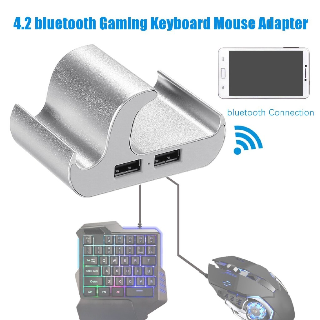 Mobile Cable & Chargers - Keyboard Mouse Adapter Gaming BLUETOOTH Joystick Converter Kits For IOS Android-3c