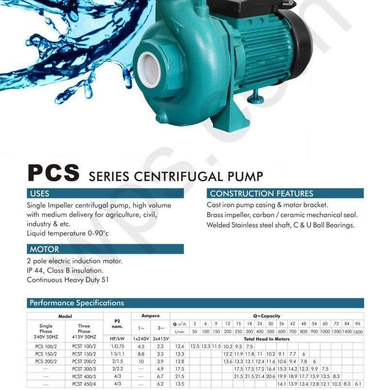 """2"""" 2 hp 1.5 kw 240 V 1 year warranty control system auto clean water supply pump motor electric booster up suction flow pipe hose tube top tank home house toilet shower kitchen sink air filter power tool sprayer spray nozzle high pressure compressor"""