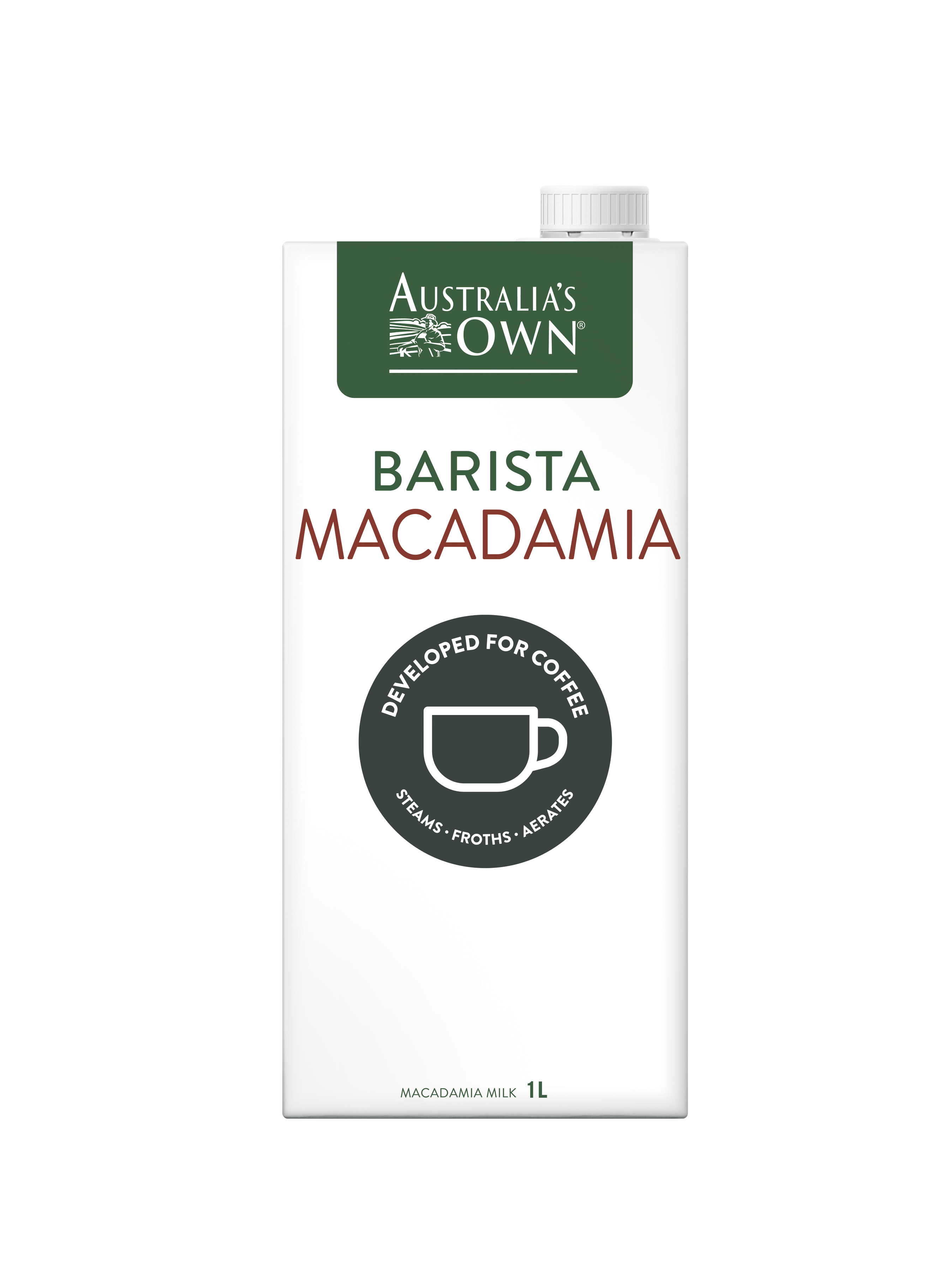 MILK Australia\'s Own Barista Macadamia Milk (1L) EURO SNACKS