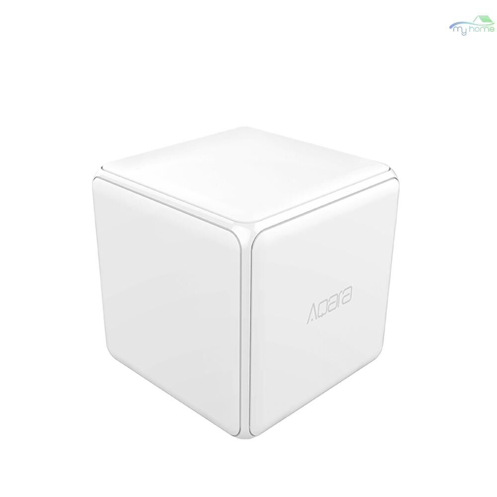 Sensors & Alarms - Aqara MFKZQ01LM Cubes Intelligent Home Controller Linkage Control of Different Equipment - WHITE