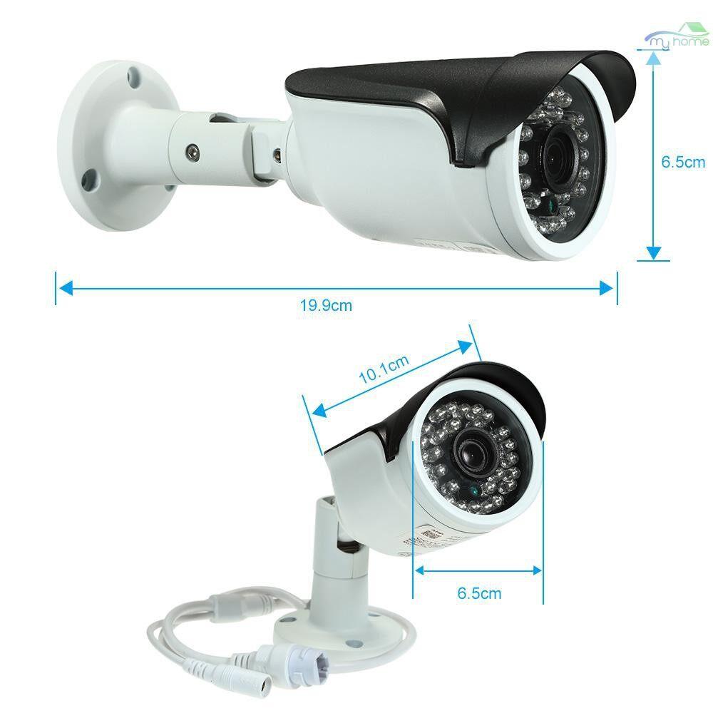 CCTV Security Cameras - 4MP ( 1080P / 1440P / 1520P ) Camera HD Bullet POE IP Camera Cam 1/2.7 CMOS 3.6mm Lens H.265/H.264 - #