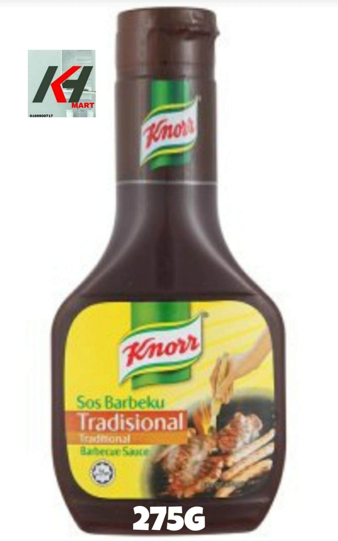 KNORR SAUCE  BARBEQUE TRADITIONAL 275G READY STOK