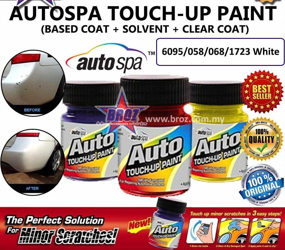 AUTOSPA Touch Up Paint Vios 3pcs/Set (Base Coat + Solvent + Clear Coat)