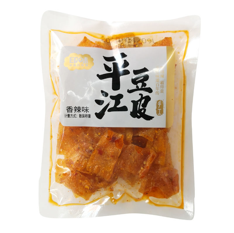 x 10  / Ping Jiang Bean Curd Snack spicy flavour x 10 packs