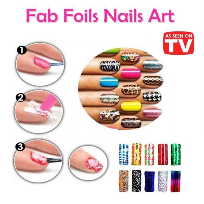 Fab Foils Nails Art