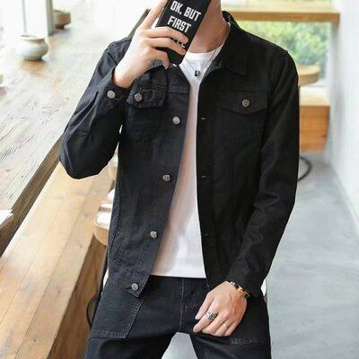 (Pre Order ETA 31/05) JYS Fashion Korean Style Men Jeans Jacket Collection 539 - 2736B