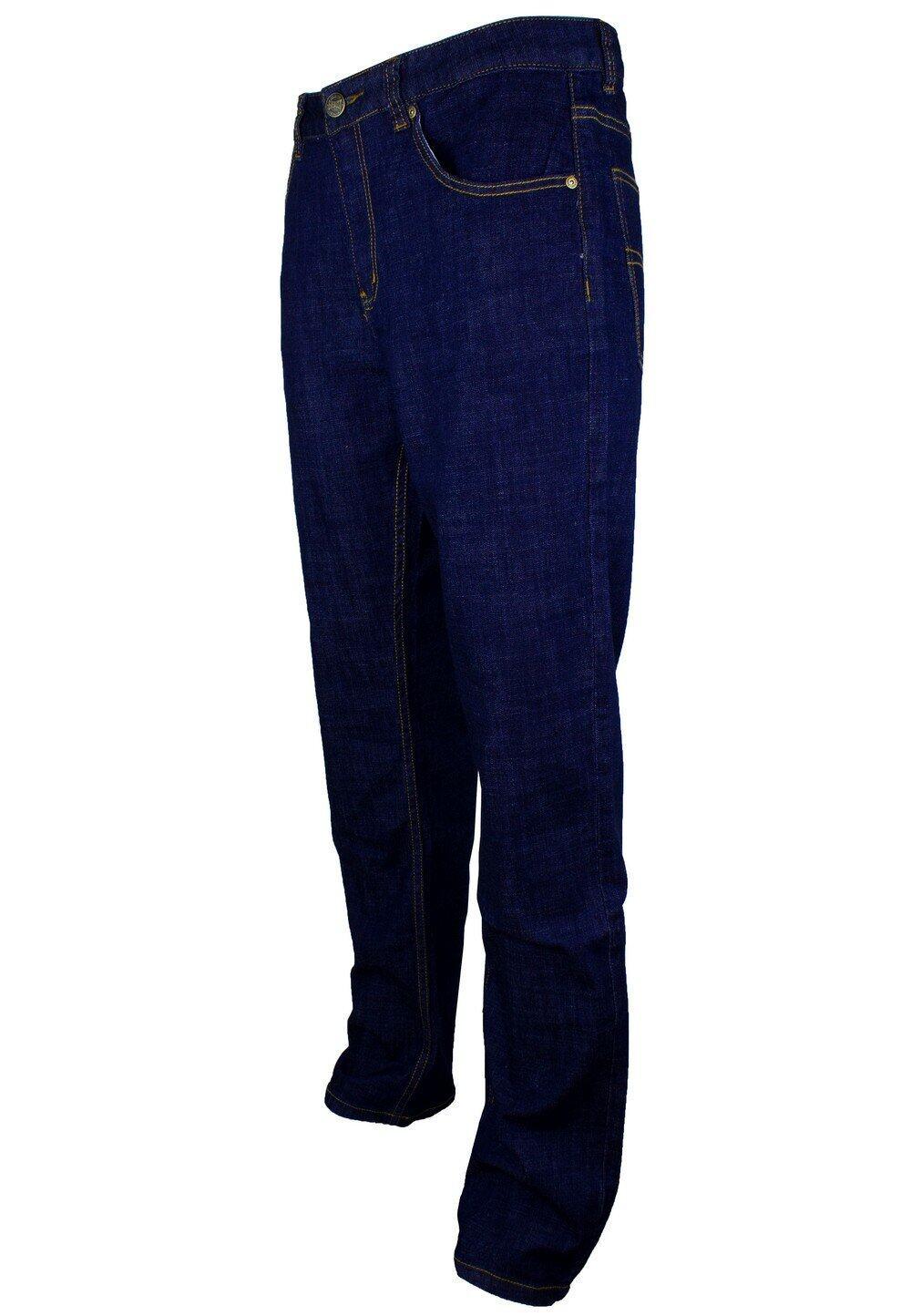 Exhaust Stretch Straight Cut Denim Long Pant 912