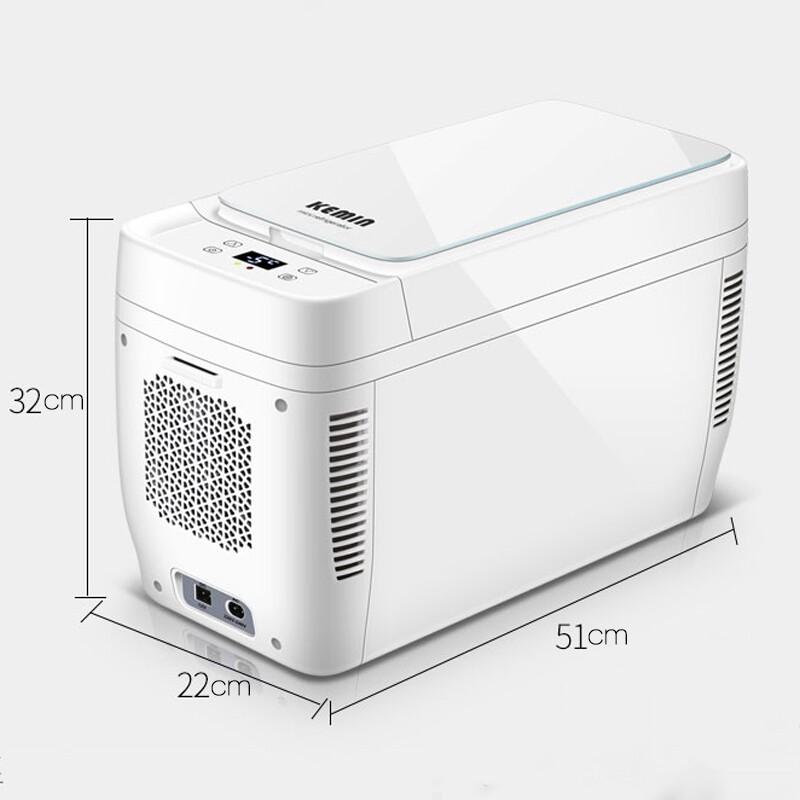 Car Electronics - 11L 12V MINI Fridge Cooler Warmer PORTABLE Household Car Refrigerator Cooler Box - Automotive