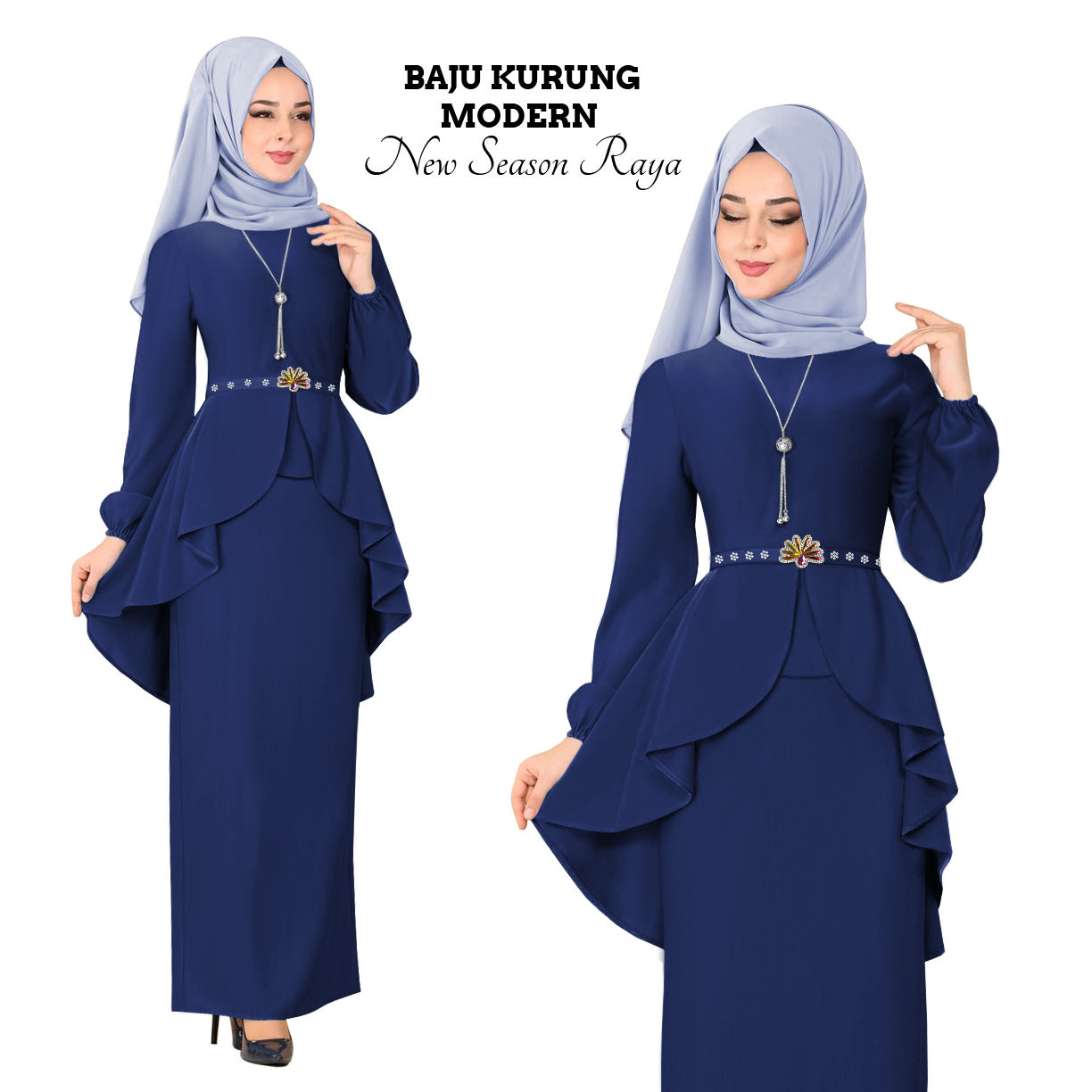 Harga KM Fashion Baju Kurung Modern New Season Baju Raya ( Hot & Trendy ) ( Ready Stock ) 2020