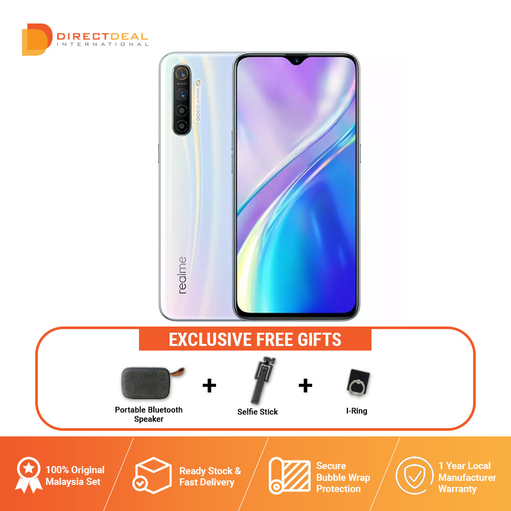 Realme XT 8 + 128GB Smartphone 1 Year Warranty By Realme (MY SET)