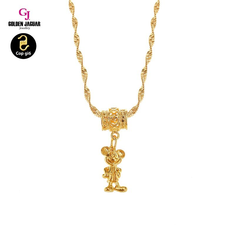 GJ Jewellery Emas Korea Necklace - Mickey M1 (MOUSE YEAR 2020)