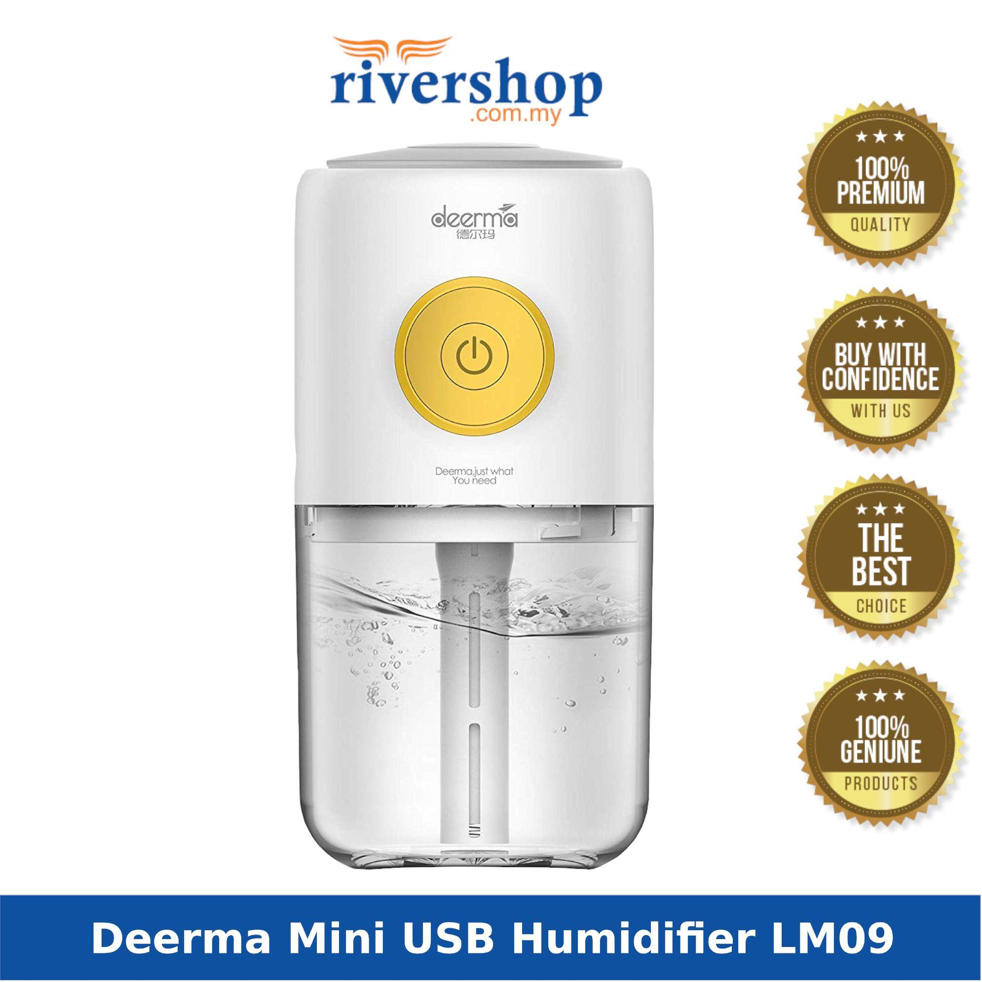 Deerma Mini USB Humidifier LM09 Aroma Diffuser with 7 Light