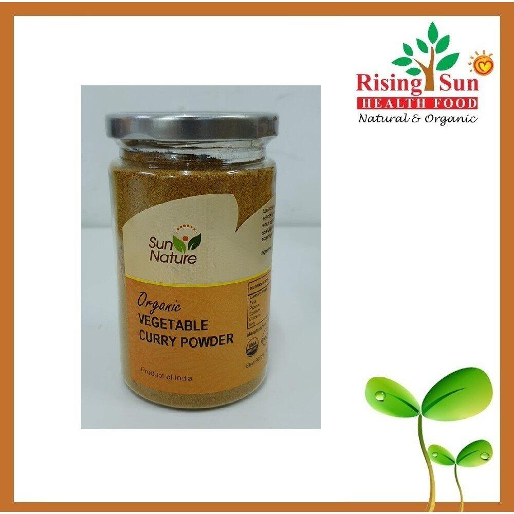 Sun Nature Organic Vegetable Curry Powder 200G