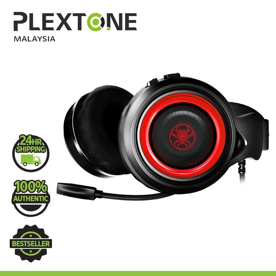 PLEXTONE G600 Neckband Style Gaming Headphones Headset Super bass with Mic LED + Game DAC 7.1 Amplifier for PC Laptop Headphone