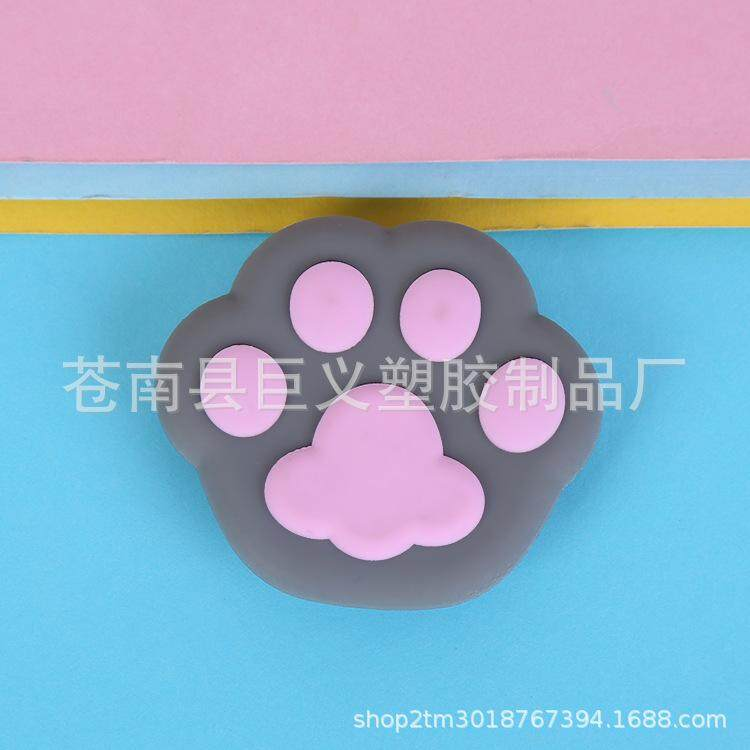 Cute Bear Paw Cartoon Pattern Airbag Cellphone Bracket Phone Stand Holder
