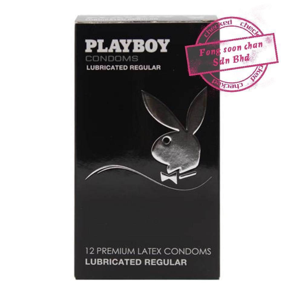 [FSC] Playboy Premium Latex Condom 12s Lubricated Classic