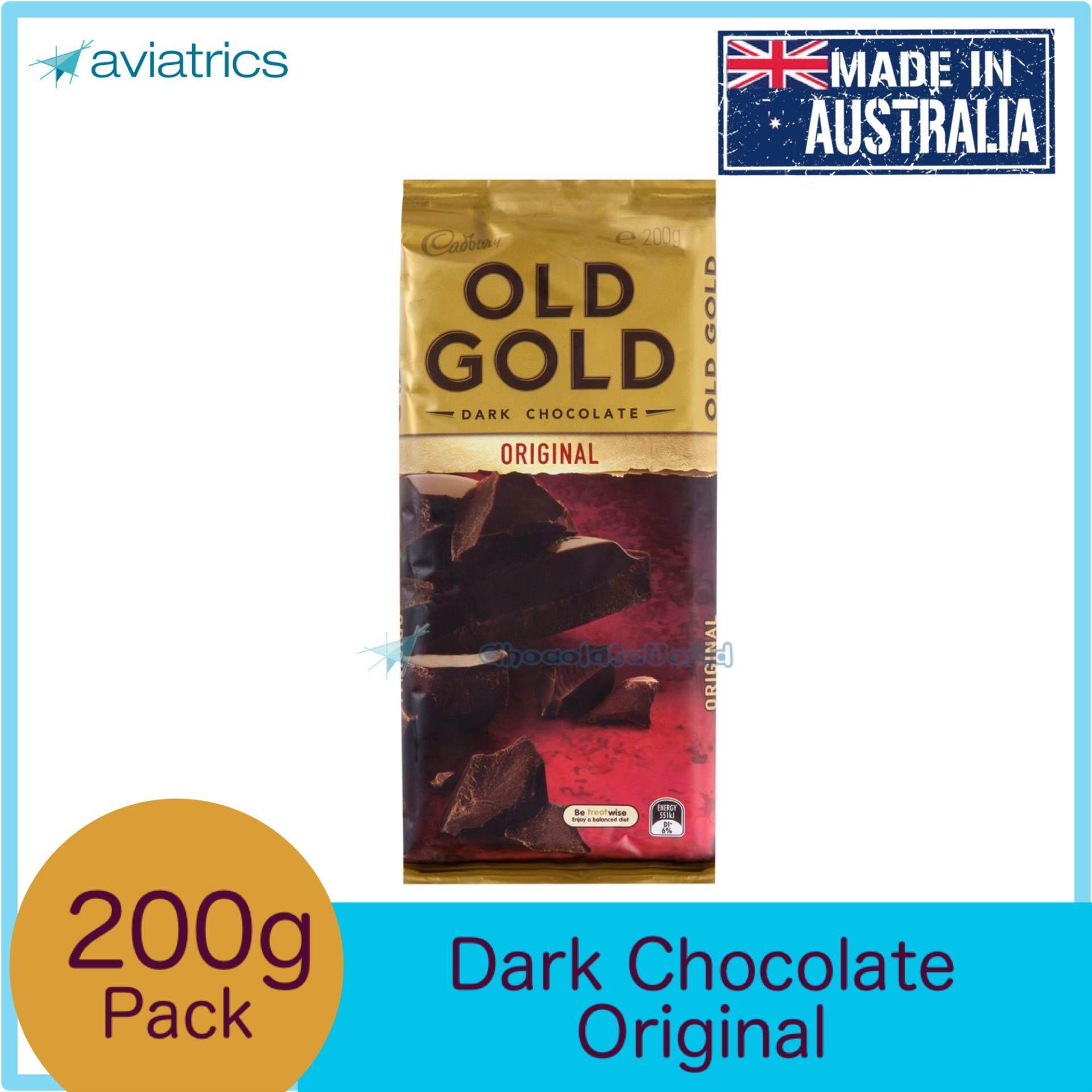 Cadbury Old Gold Dark Chocolate Original 180g (Made in Australia)