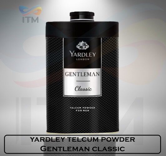 YARDLEY TALCUM POWDER GENTLEMEN CLASSIC 150 GM