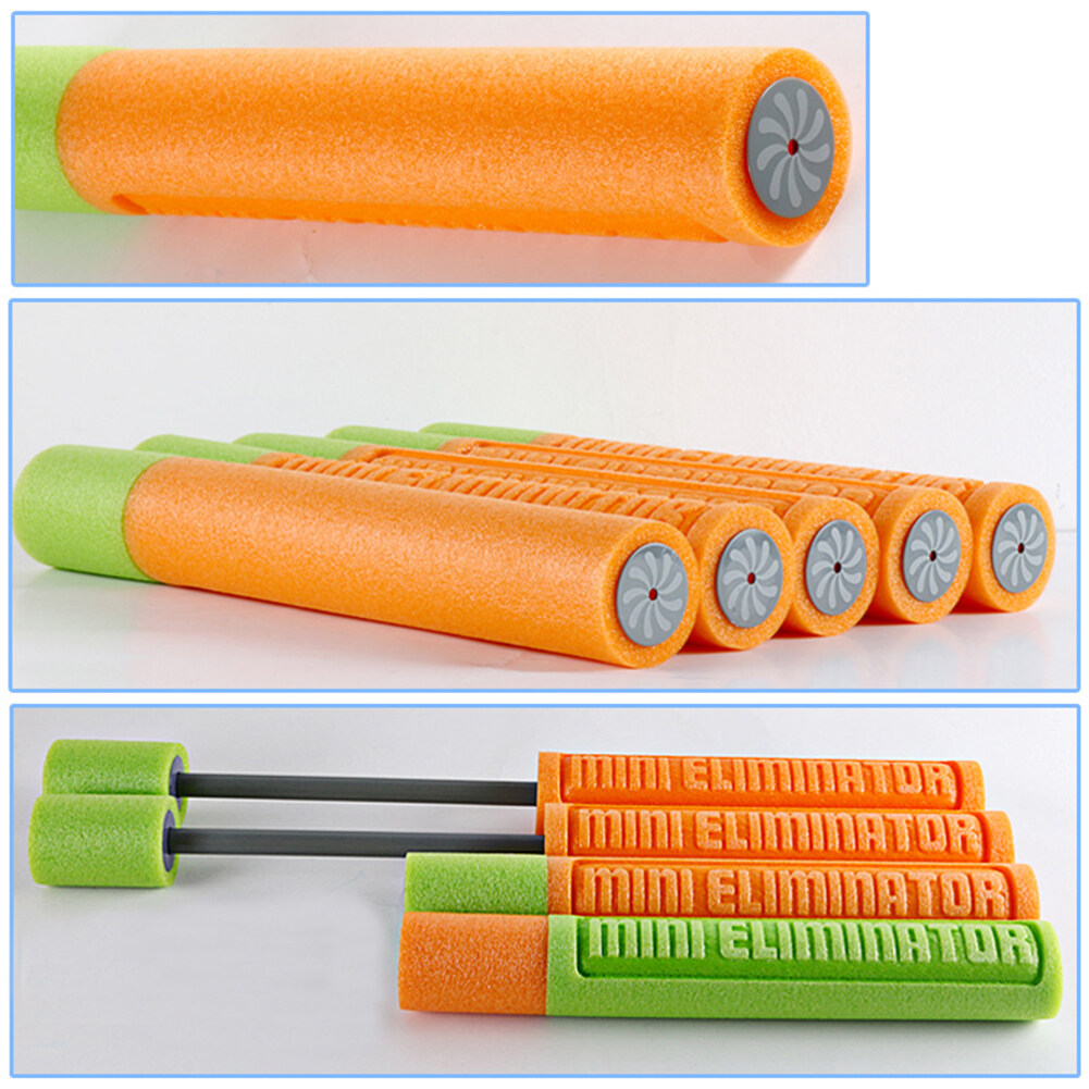Kids Beach Drift Foam Water Pistol Cannon Soaker Toy, Draw-pull Type High-pressure Water Gun Color Random