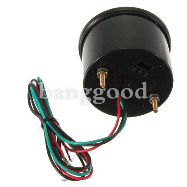 Moto Accessories - 2 52mm Auto Car Motor Red Digital LED Water Temp Temperature Gauge 110-300 - Motorcycles, Parts