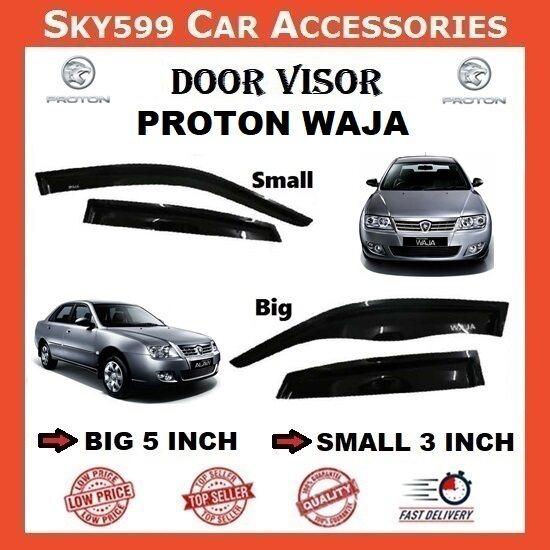 Proton WAJA 3inch Door Visor /air press?1set 4 Door?