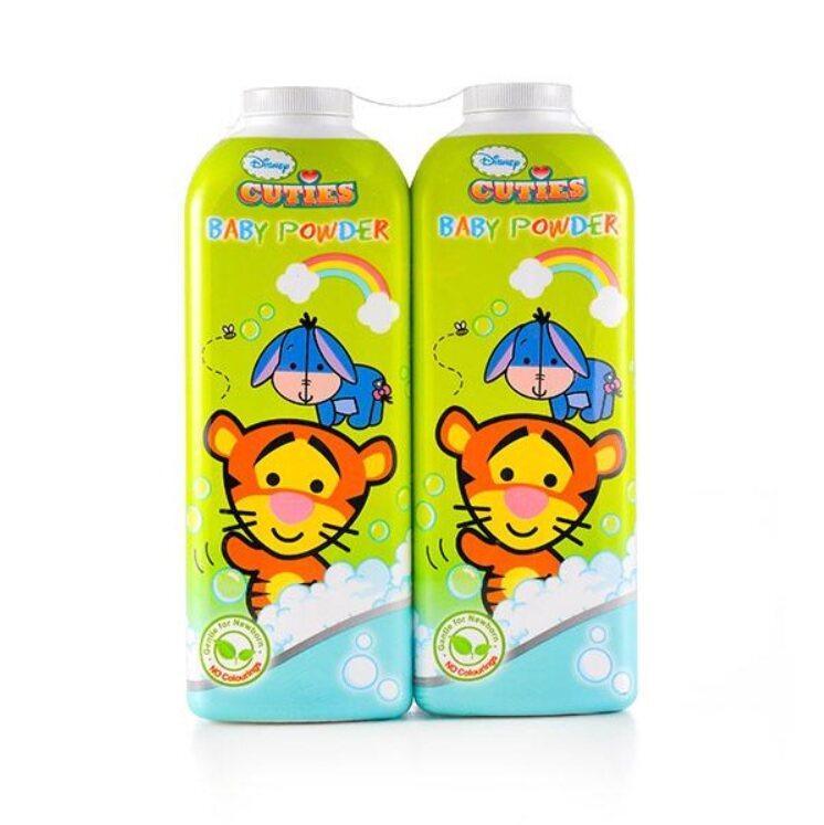 Disney Cuties Baby Powder 2 In 1 Set 400g X 2pcs - Winnie The Pooh