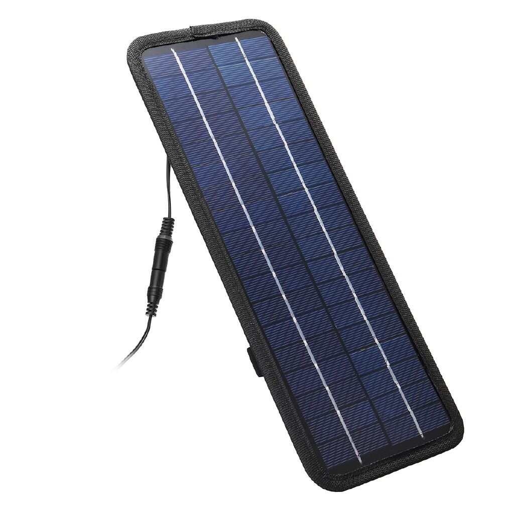 Chargers - 4.5W 12V Boat Car Solar Panel Trickle Battery Charger Outdoor Crystal Silicon - Cables