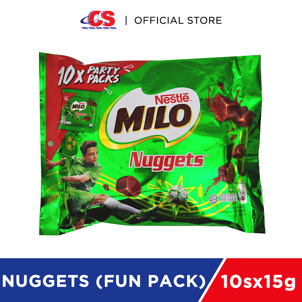 MILO Nuggets Party Pack 10'Sx15g