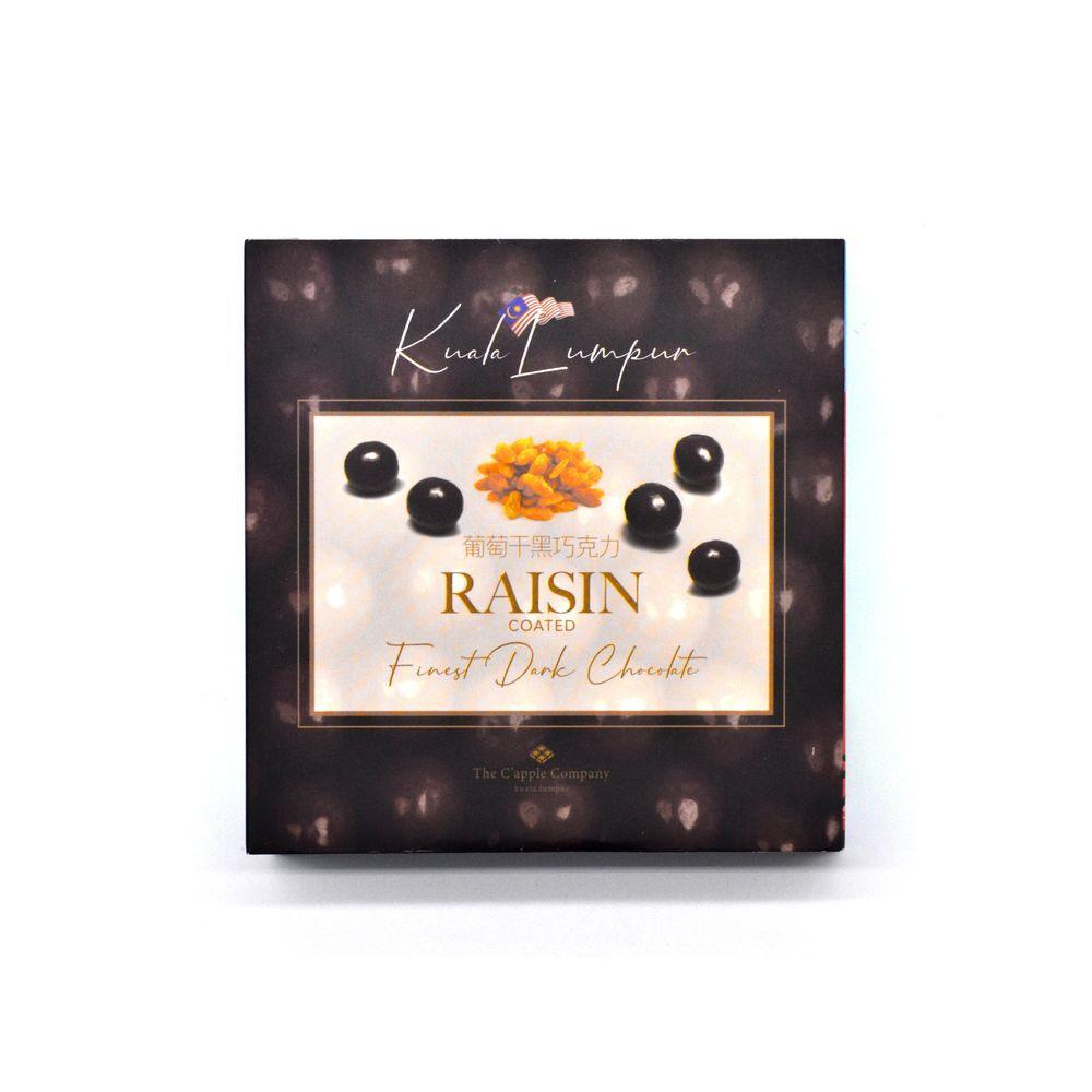 C'APPLE Dark Chocolate - Raisin (100g)