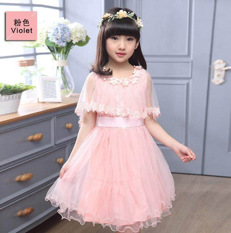 (Pre Order14 Days JYS  Fashion Korean Style Kids Girl Dress Collection -5189915col518-9915--Pink -110