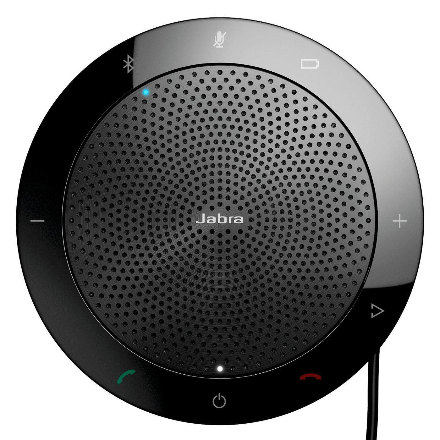 Jabra Speak 510+ MS Portable USB and Wireless Bluetooth Conference Speakerphone (With Link 370 Dongle)