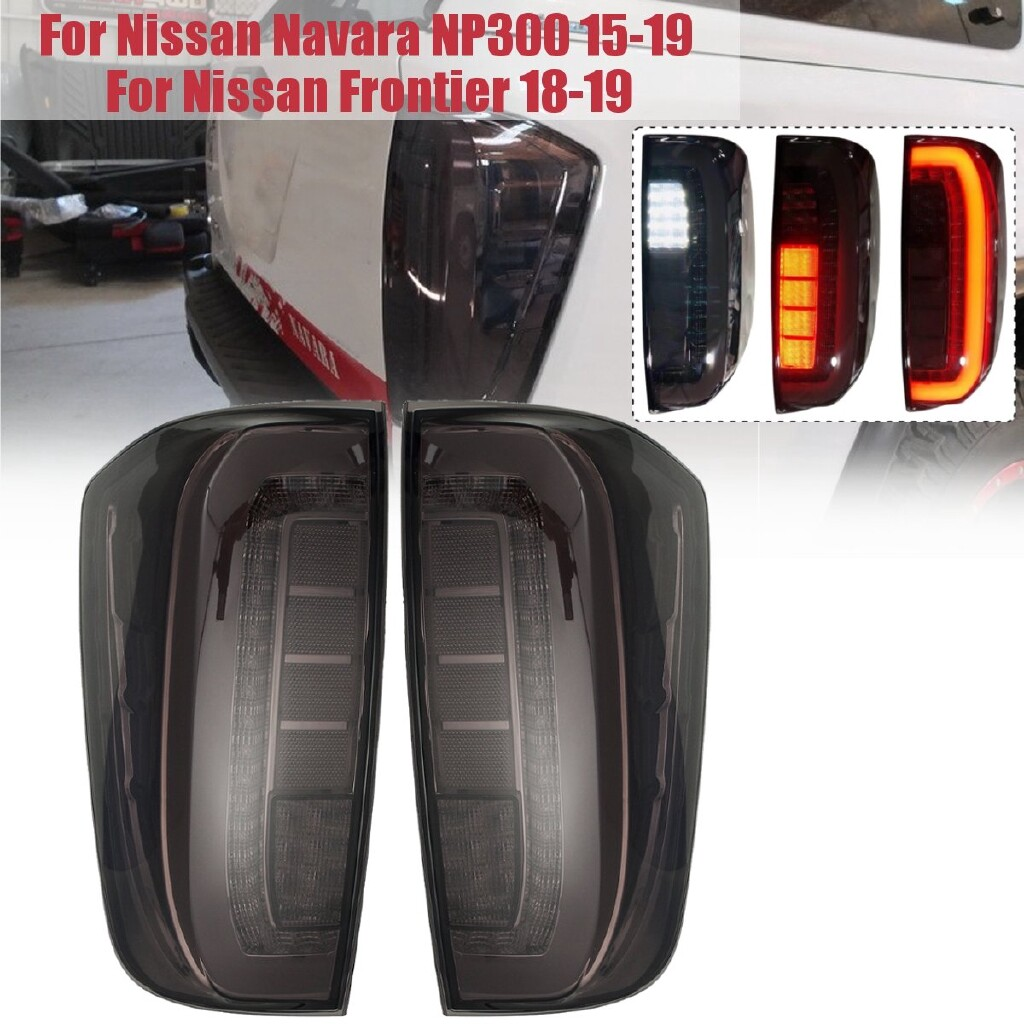 Car Lights - Pair Lmap Taillight Brake For Nissan Navara NP300 2015 - Frontier - - Replacement Parts