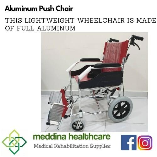 Aluminium Push Chair (Lightweight Aluminium Wheelchair)