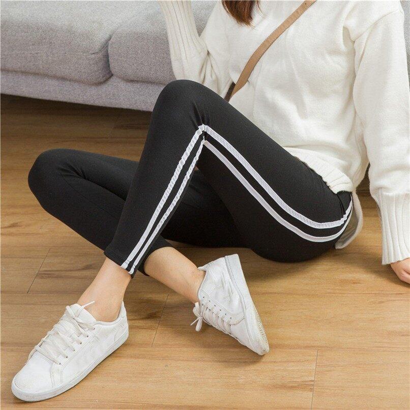 Anyongzu Style Female Bottom Stretchable Bottom Pants