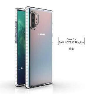 Ốp Bảo Vệ Kép Cho Samsung Galaxy Note 10 + Galaxy Note 10 Pro Ốp Lưng Nhựa TPE Mềm Trong Suốt 6.8 Inch thumbnail
