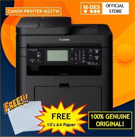 [Ready Stock] Canon ImageCLASS MF237w Laser Printer (Print/Scan/Copy/Fax/Wireless) MF237