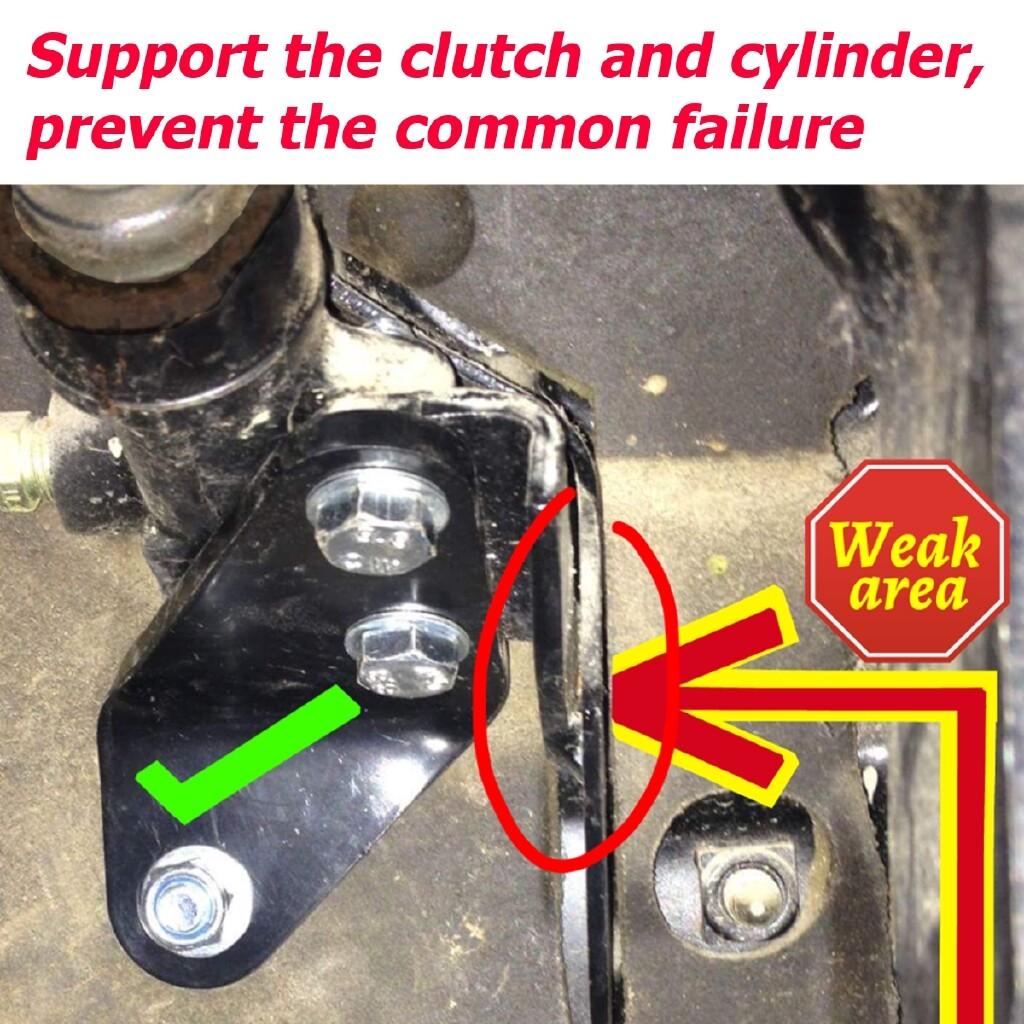 Moto Accessories - Clutch Pedal Repair Bracket Kit For Volkswagen T4 Transporter Caravelle Multivan - Motorcycles, Parts