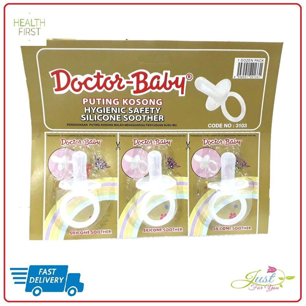 DOCTOR BABY  SOOTHER 3103 PUTING KOSONG PUTIH