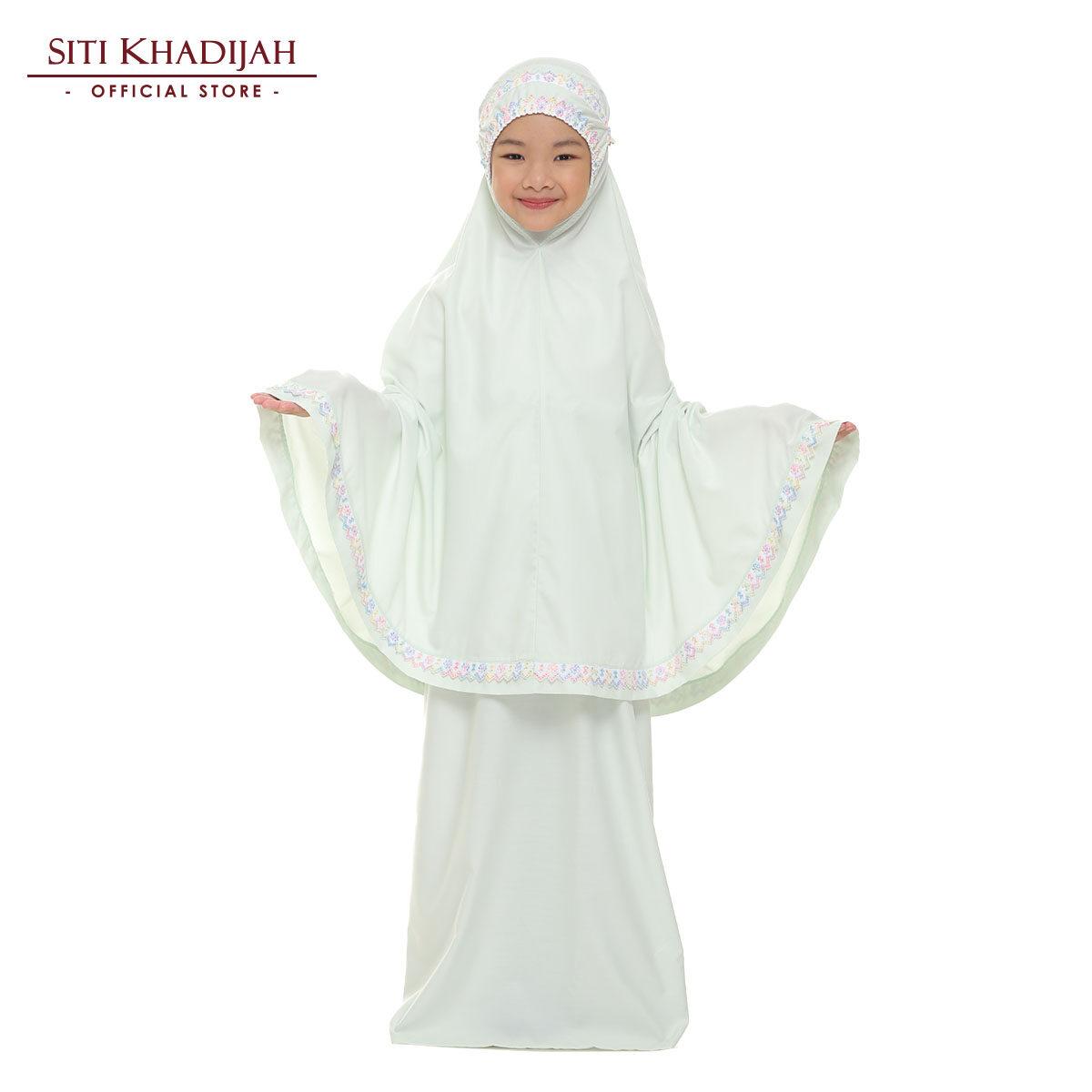 Siti Khadijah Telekung Cilik Samira in Mint Green