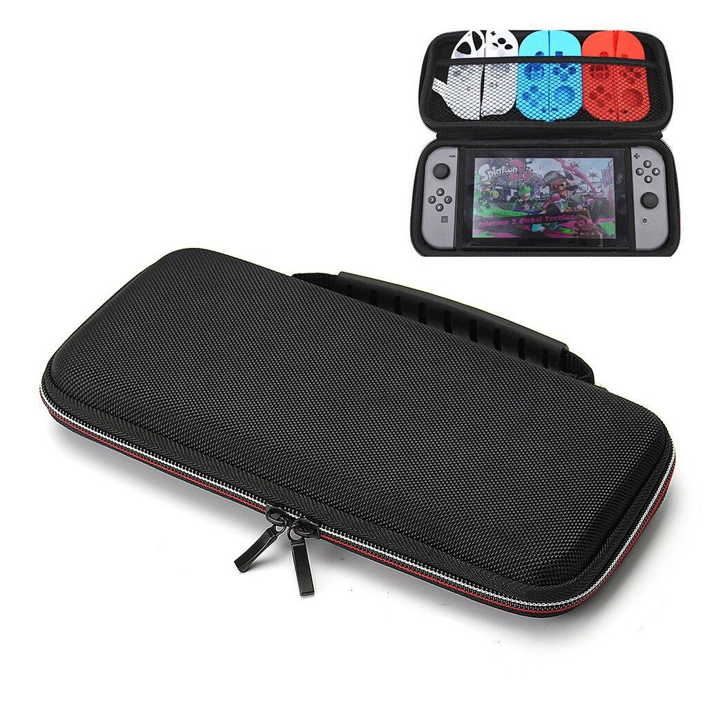 Cool Gadgets - Shockproof Travel Hard Carry Storage Case Black Cover Holder For Nintendo Swi - Mobile & Accessories