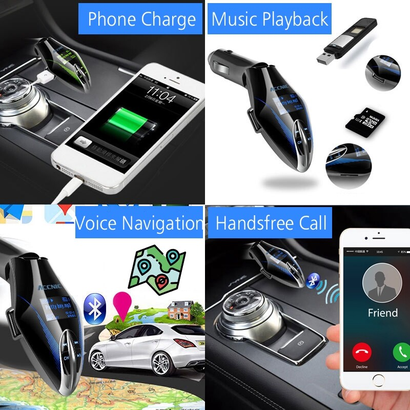 DVDs - BLUETOOTH MP3 Player Car Charger LED WIRELESS FM Transmitter USB Auto Audio 16GB - DVDs, Blueray & CDs