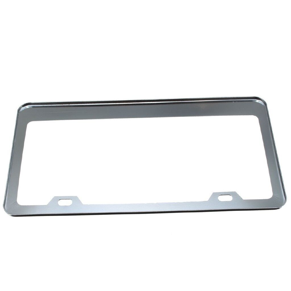 Engine Parts - Stainless Steel License Plate Frame Tag Cover For USA CA Car - Car Replacement
