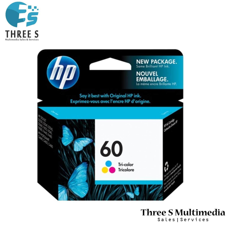 HP 60 Tri-colour Original Ink Cartridge