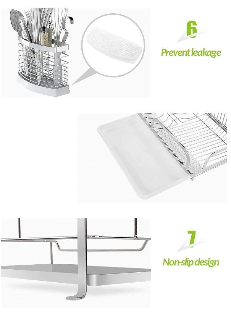 (FREE Delivery Klang Valley) Singaye Stainless Steel Storage Rack-Chopstick Bowl