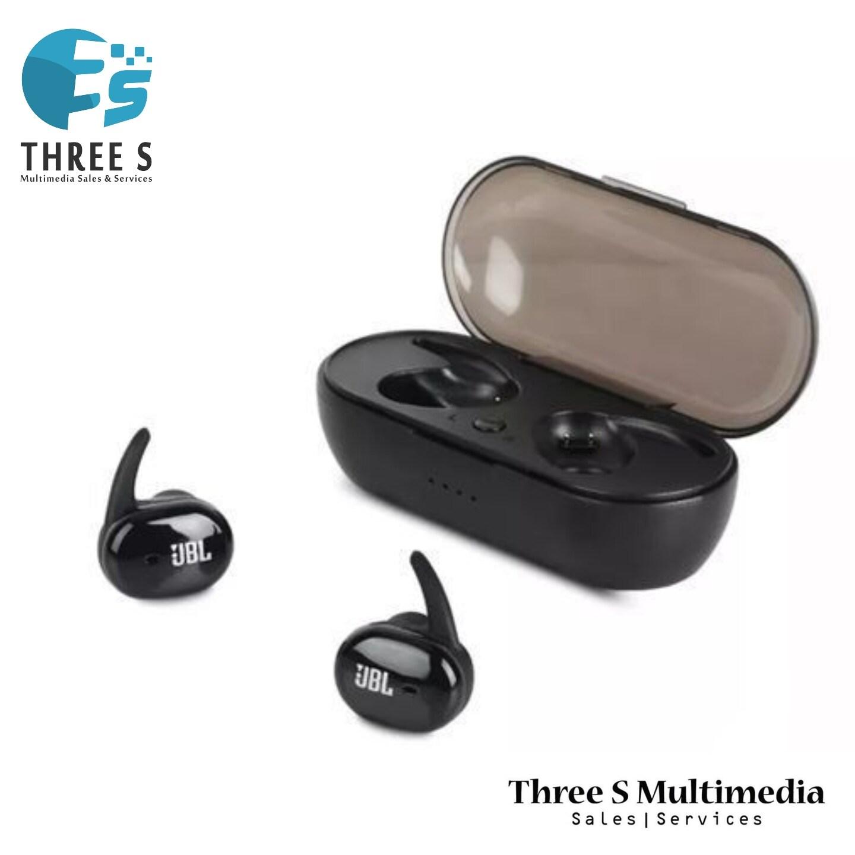 JBL BY HARMAN TWS 4 Wireless Bluetooth Headphones 2 Earbuds