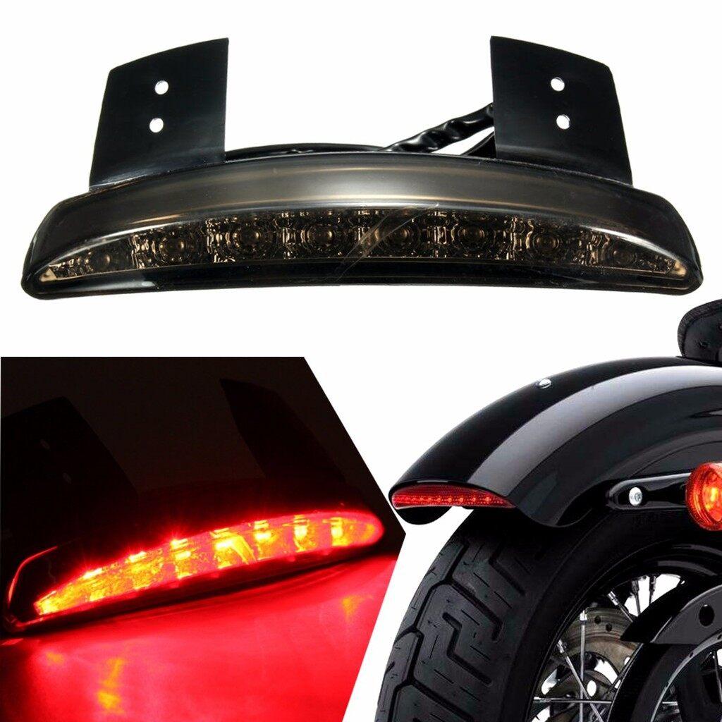 Car Lights - 12V LED Brake Fender Edge Tail Light Smoke Lamp Cover - Replacement Parts