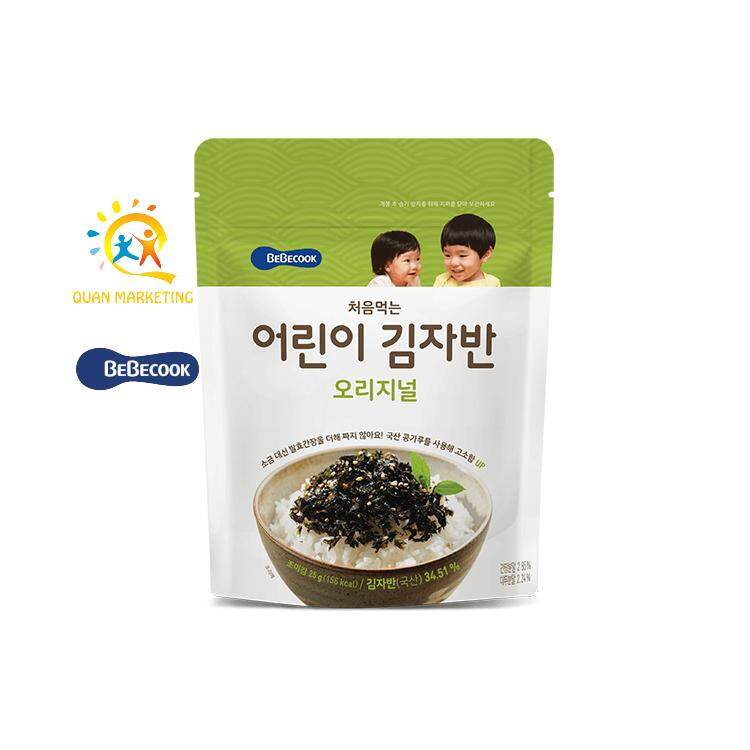 BeBecook Sun-Dried Seaweed Chop (Original Flavor) - Baby/Child Dishes and 100% imported from Korea