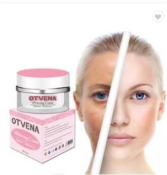 OTVENA INSTANT FACE WHITENING CREAM MOISTURIZER CREAM LADY MAKE UP BASE FRECKLE REMOVAL 50g